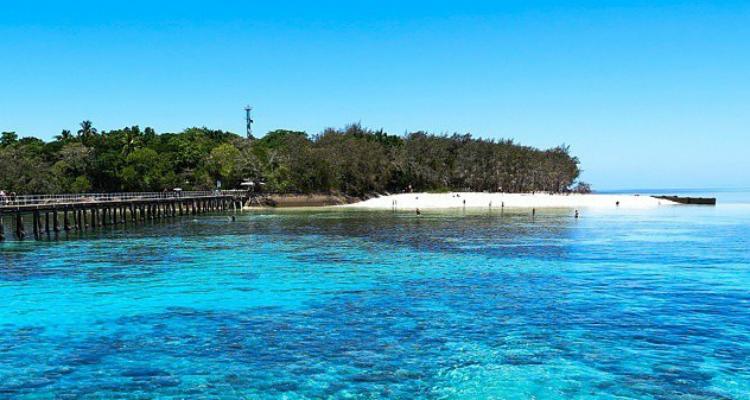 チャレンジホームステイ、オーストラリア、ケアンズ、グリーン島、ビーチ