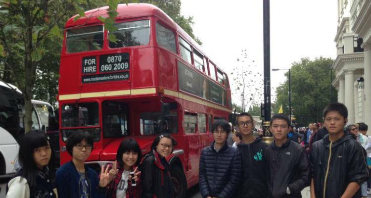 チャレンジホームステイ、ロンドン、イギリス