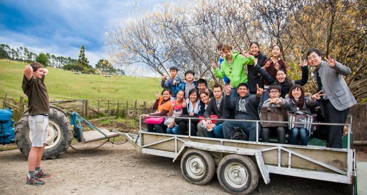 ニュージーランド、New Zealand Language Centres,ホームステイ,ジュニアプログラム,短期留学