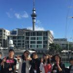 チャレンジホームステイ, ニュージーランド, オークランド, 集合写真, スカイタワー