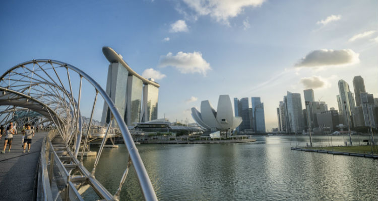 シンガポール、マリーナサンベイズ