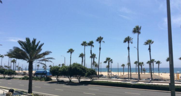 ロサンゼルス、サンタモニカ