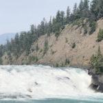 カナダ、カナディアンロッキー、ボウ滝