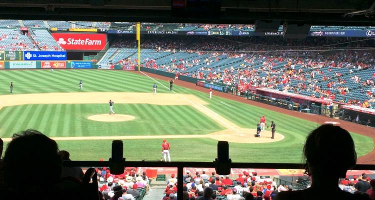 チャレンジホームステイ,野球,メジャーリーグ,エンゼルス