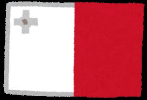 チャレンジホームステイ,短期留学,国旗,マルタ