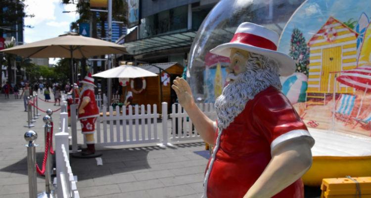 オーストラリア、サンタ、クリスマス