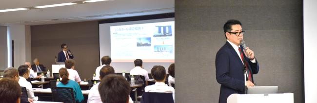 ISAシンガポールオフィス開設特別セミナー シンガポールオフィス代表 齋藤貴臣講演