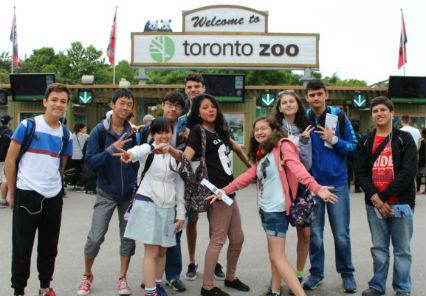 語学学校でできた世界の友達と楽しいアクティビティ