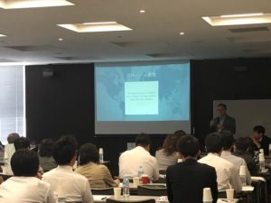 ISA福岡次世代教育セミナー ティム・プリュエ グローバルコンピテンスについての講演