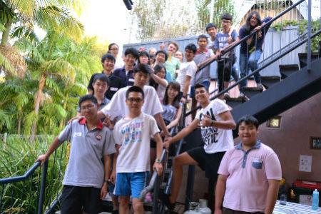 高校生の私費留学 多国籍の高校生と交流