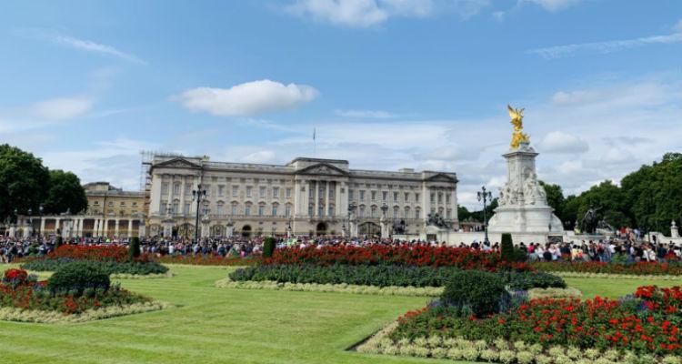 チャレンジホームステイ,ロンドン,イギリス,バッキンガム宮殿