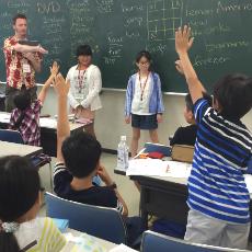 イングリッシュジャーニーin沖縄の英語レッスン