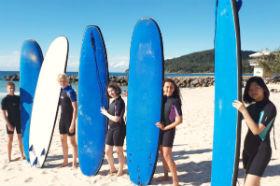 オーストラリア 初体験のアクティビティで仲間をつくる