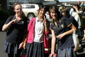 ニュージーランド 現地校の授業体験でできた友達と