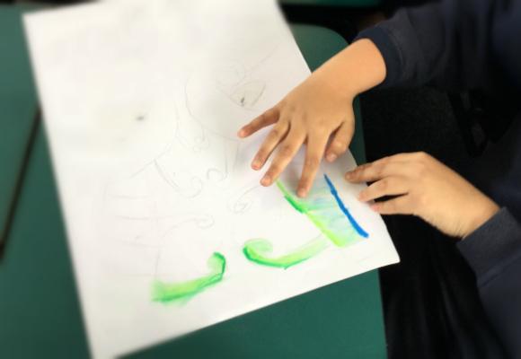 留学とはキャンバスに絵を描くこと