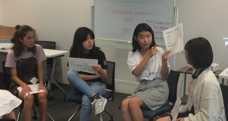 エンパワーメントプログラム、中高生英語レッスン